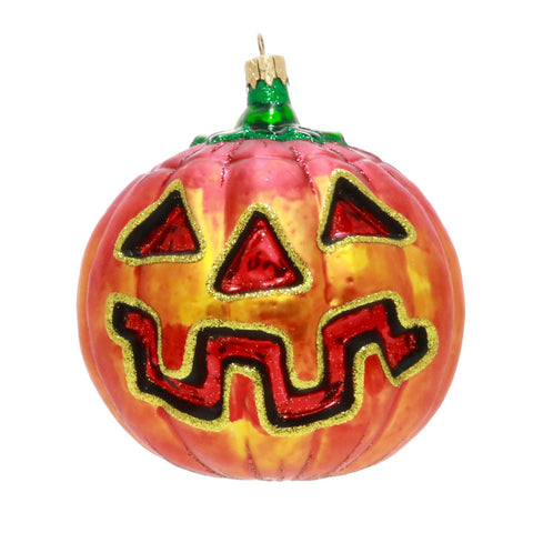 Large Jackolantern Christmas or Halloween Ornament - Gifts by Kasia - 1