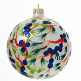 Blueberry Branch Globe Christmas Ornament - Gifts by Kasia - 6