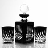 Onyx Flame Cut Crystal Whiskey Decanter - Gifts by Kasia - 8