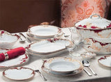 Rococo Fine China/Porcelain Set for 12 People - Gifts by Kasia - 2