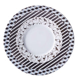 Dinner Plate Black Diamond Pattern  Mix-N-Match - Gifts by Kasia - 3