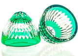 Candy Dish Crystal Emerald Egg - Gifts by Kasia - 2