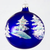 Globe Snowman with Broom Christmas Ornament - www.giftsbykasia.com - 2