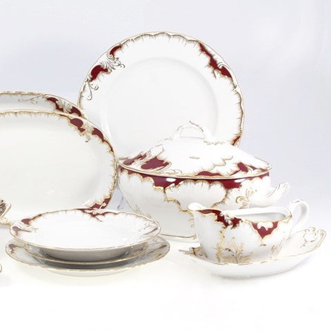 Rococo Fine China/Porcelain Set for 12 People - Gifts by Kasia - 6