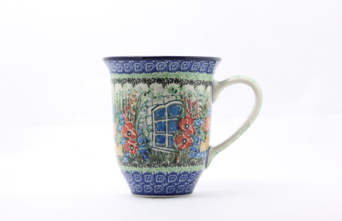 Handmade Window Into my Garden Ceramic Mug - Gifts by Kasia - 1