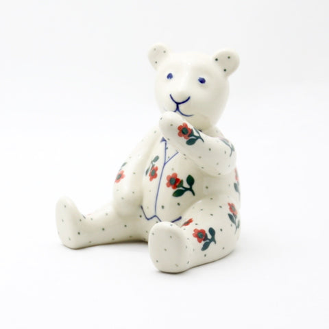 Handmade Ceramic Bear Figurine - Gifts by Kasia - 1