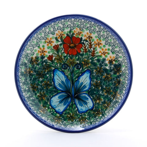 Handmade Ceramic Garden Butterfly Dinner Plate - Gifts by Kasia - 1