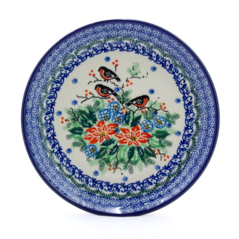 Handmade Ceramic Birds of a Feather Dinner Plate - Gifts by Kasia - 1