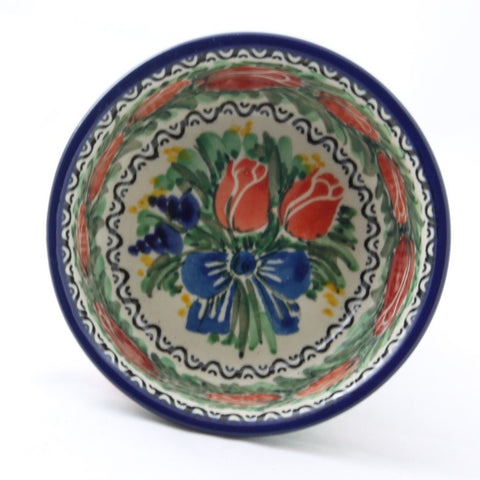 Handmade Ceramic Bowl Tulips - Gifts by Kasia - 1