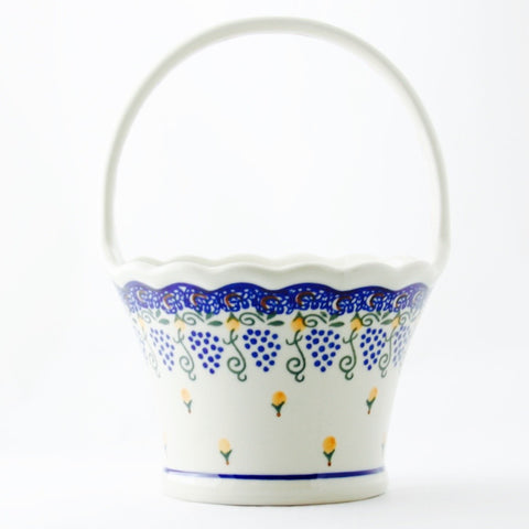 Tall Round Basket - Gifts by Kasia