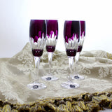 Crystal Alexandrite Champagne Flute - Gifts by Kasia - 6