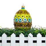 Royal Peacock Egg Christmas or Easter Ornament - Gifts by Kasia - 4