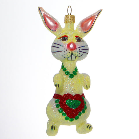 Handmade Mother Bunny Christmas Ornament - Gifts by Kasia - 1