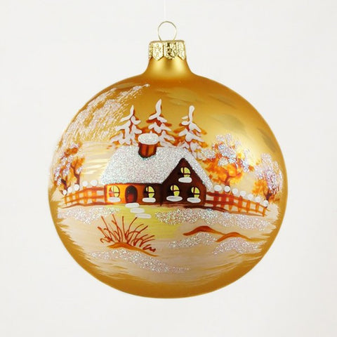 Sunset Sky Globe Christmas Ornament - www.giftsbykasia.com - 1