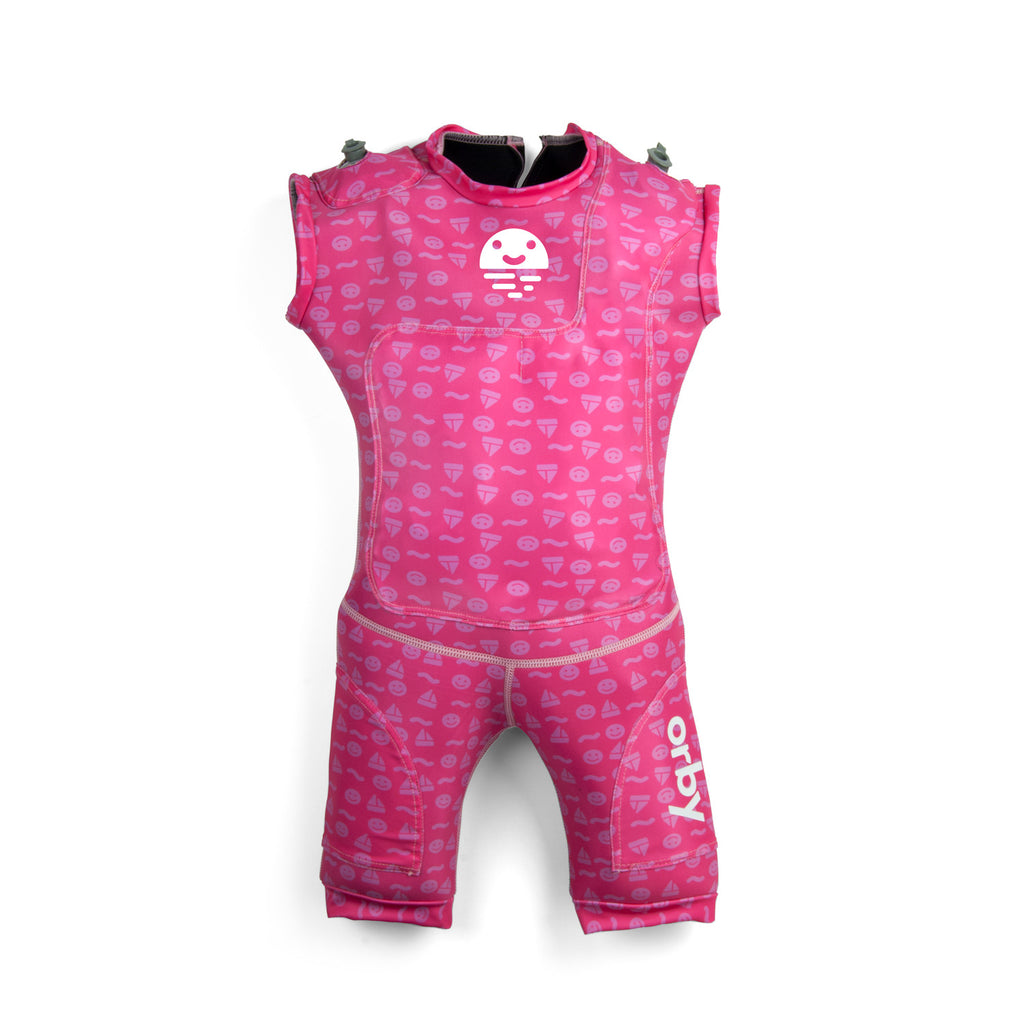 Orby Jetsuit -Smiley  Pink