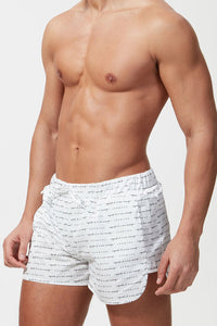 Hermano Signature Swim Shorts - White