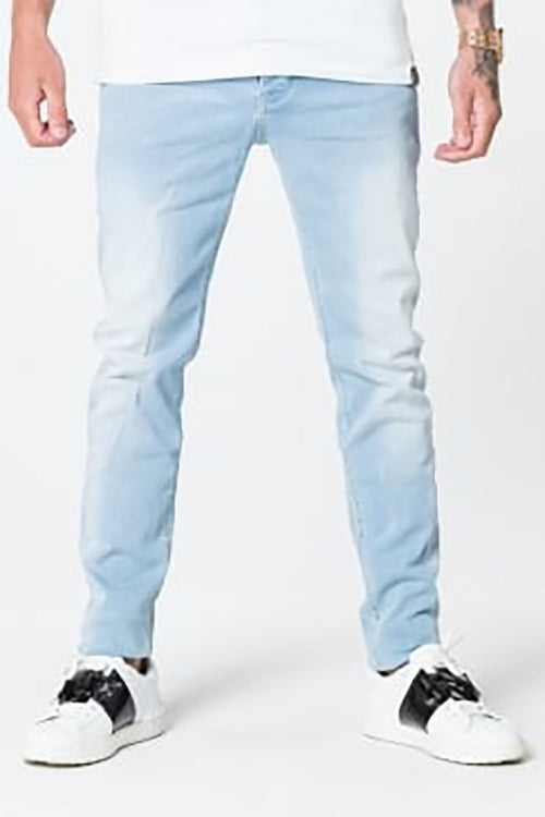 11 Degrees Plain Slim Jeans - Stone