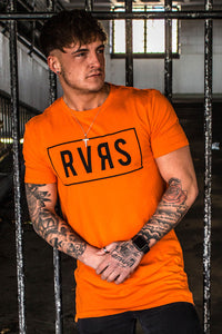 RVRS SS Core Tee - Orange