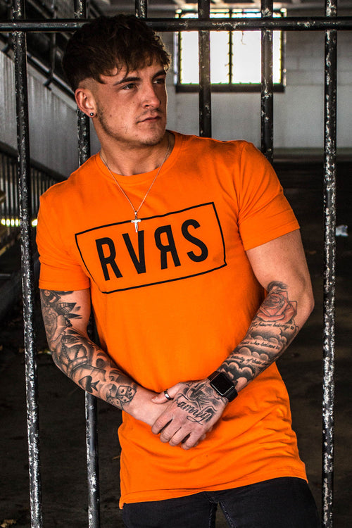 Gods London Core Tee - Orange