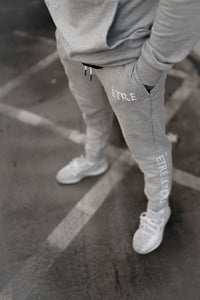 ETRE Joggers - Silver