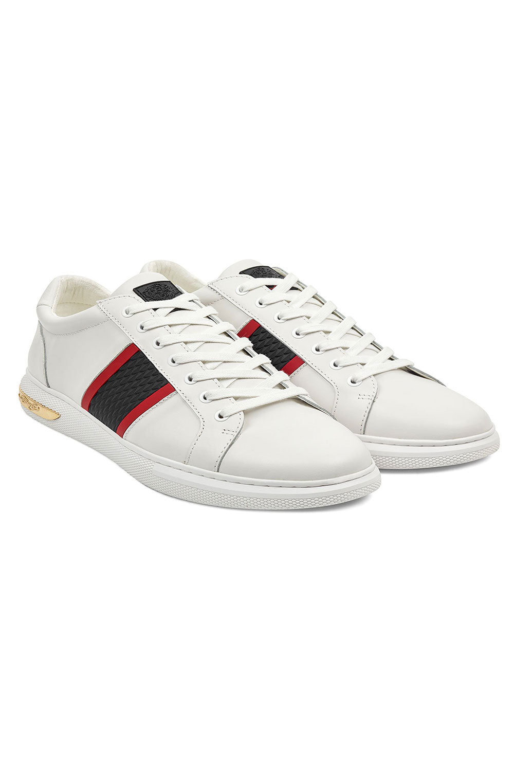 Ed Hardy Blade Low Top - White / Red