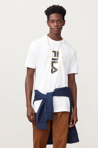 FILA Alvino Tee - White / Black / Yellow