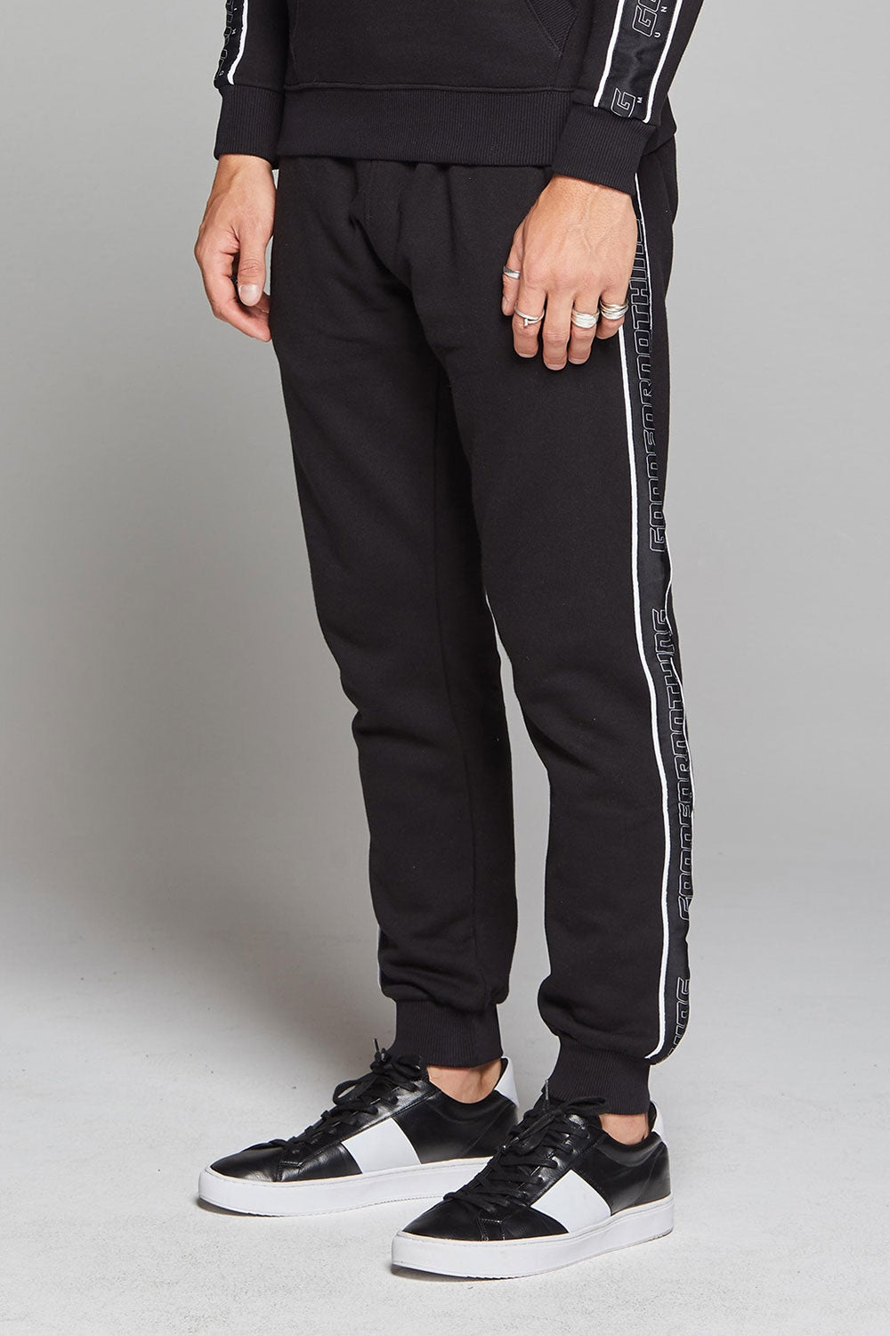 Good For Nothing Dynamic Monochrome Joggers - Black