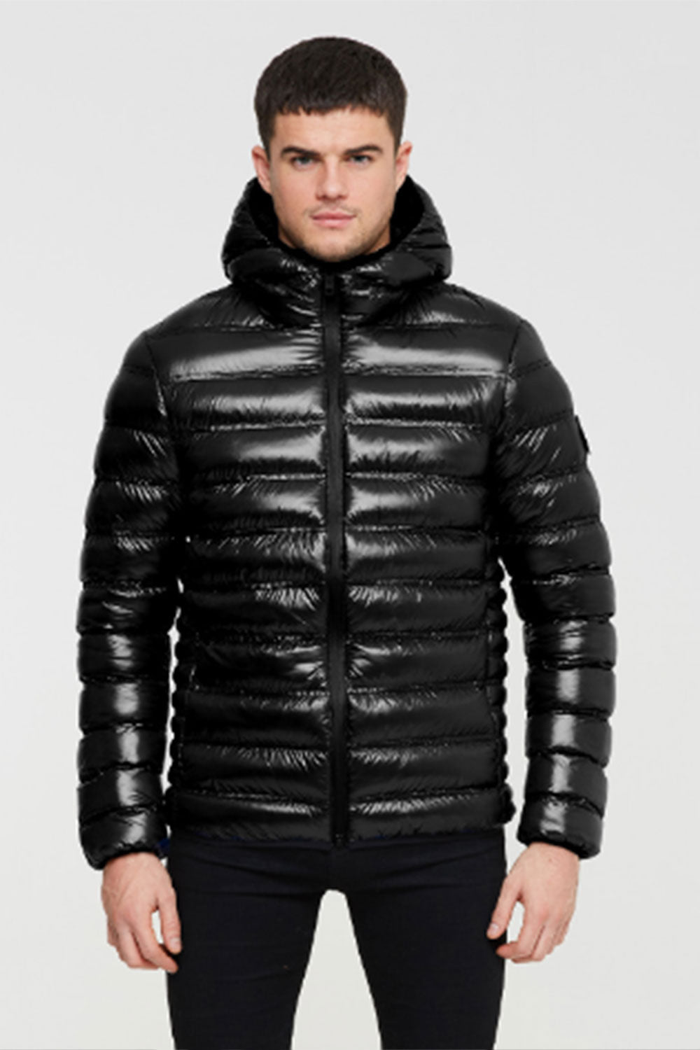 Good For Nothing Romero Puffer Jacket - High Shine