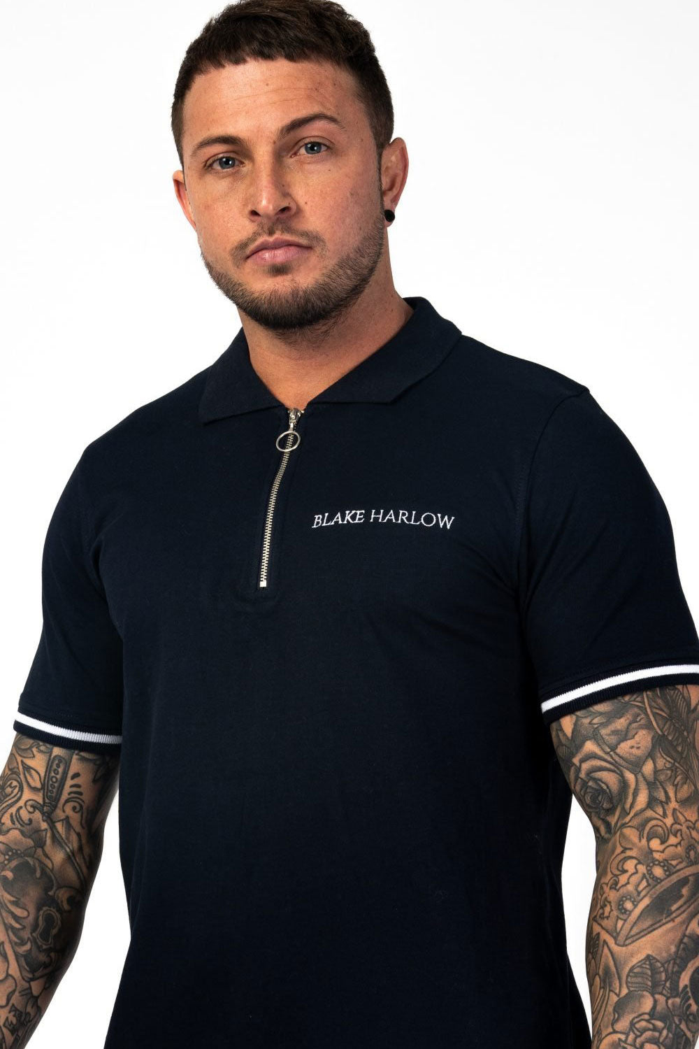 Blake Harlow Hampton Polo - Navy