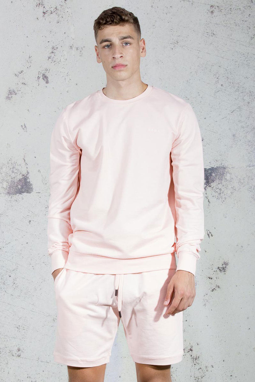King Apparel Bethnal Summer Track Shorts - Blush - XL