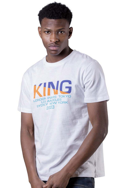 King Apparel Homerton Tee - White