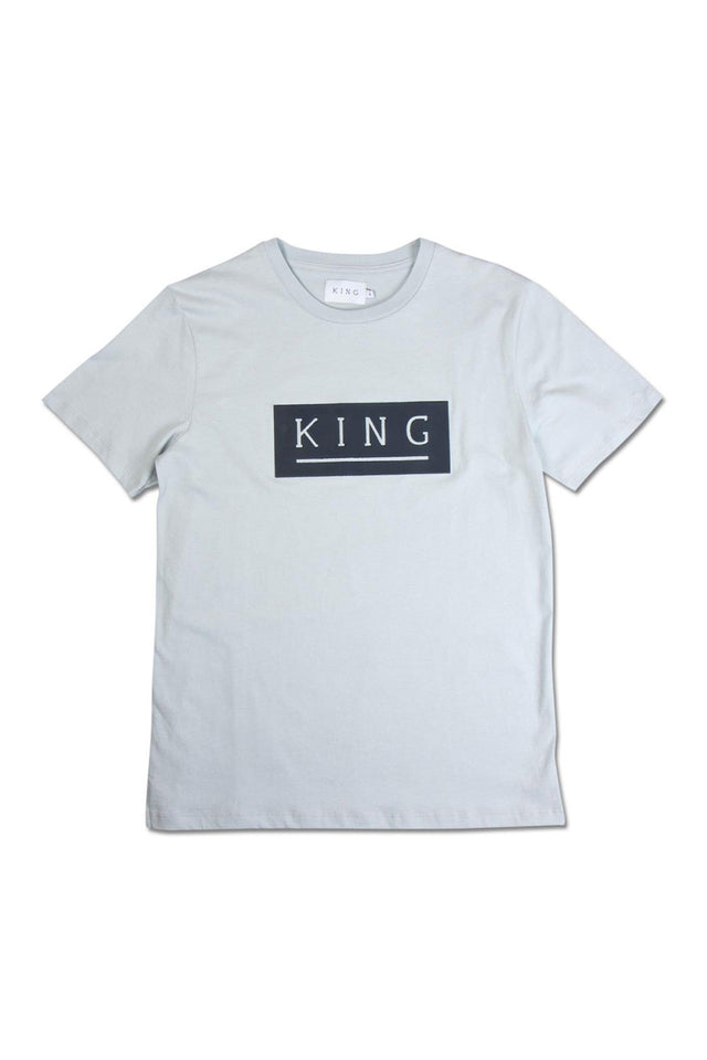 King Apparel Manor Tee - Sky
