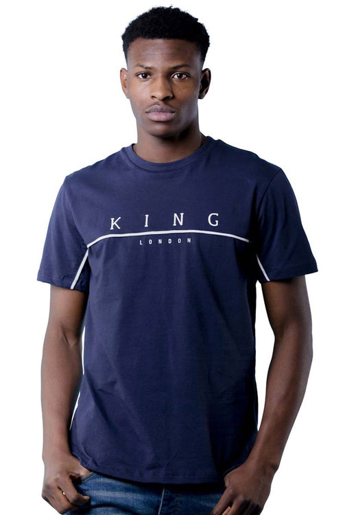 King Apparel Tennyson Tee - Ink - Large