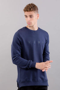 King Apparel Bethnal Sweatshirt - Ink - XL