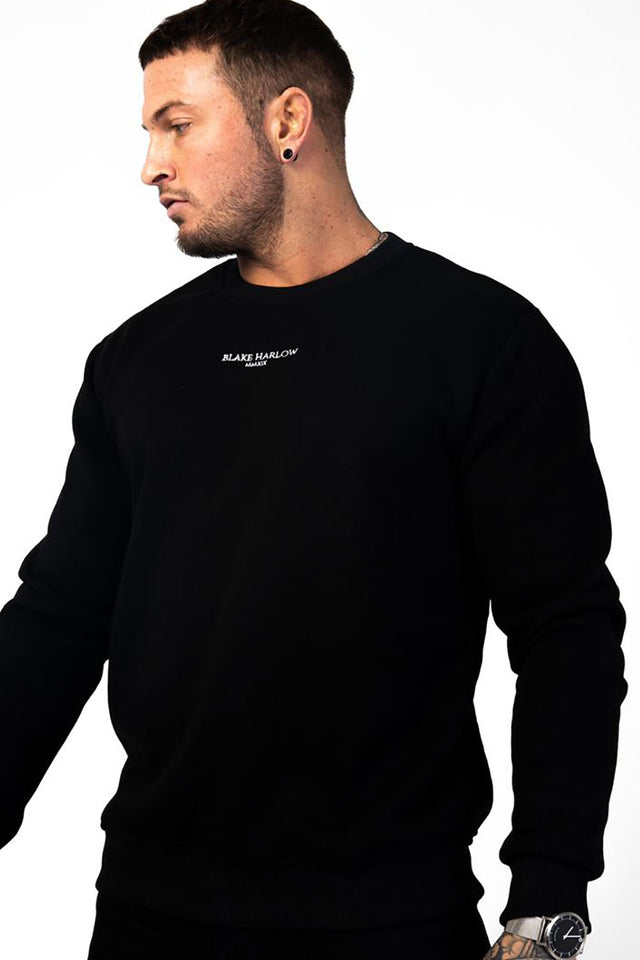 Blake Harlow Brooklyn Jumper - Black