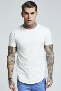 SikSilk Short Sleeve Pastel Gym Tee – Pastel Yellow