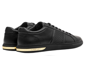 Ed Hardy Scale Low Top - Black / Gold
