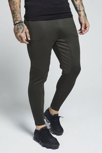 SikSilk Athlete Track Pants – Khaki