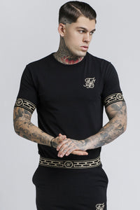 SikSilk Cartel Lounge Tee – Black