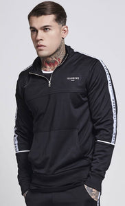 Illusive London Taped Overhead Track Hoodie - Black