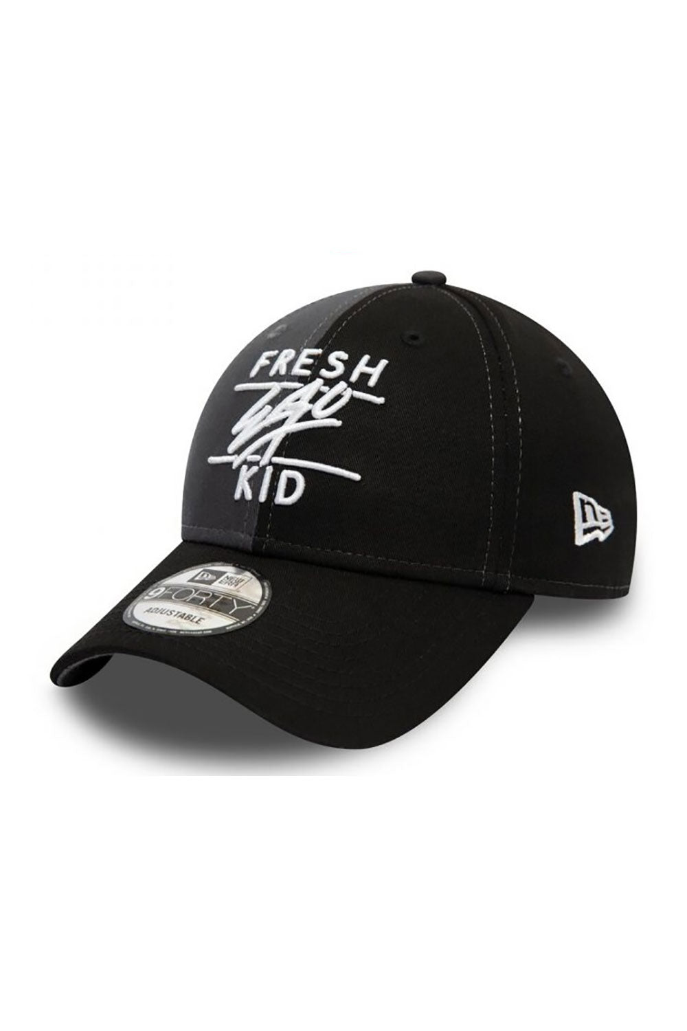 Fresh Ego Kid 9Forty Polo Cap - Grey / Black