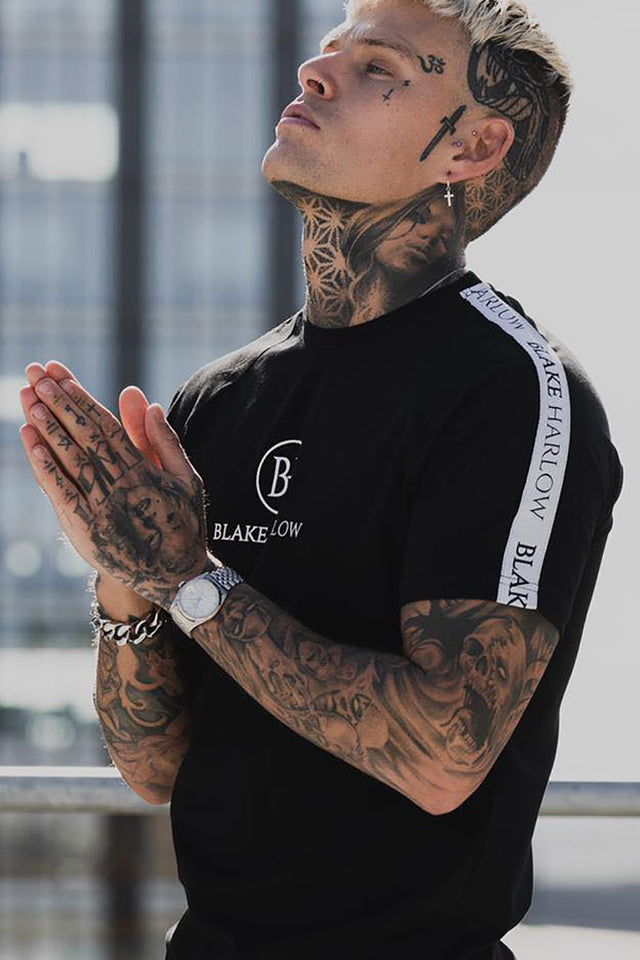 Blake Harlow New York Logo Tee - Black