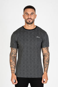 Nimes Check T-shirt - Black Check