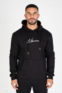 Nimes over the head Hoodie - Black