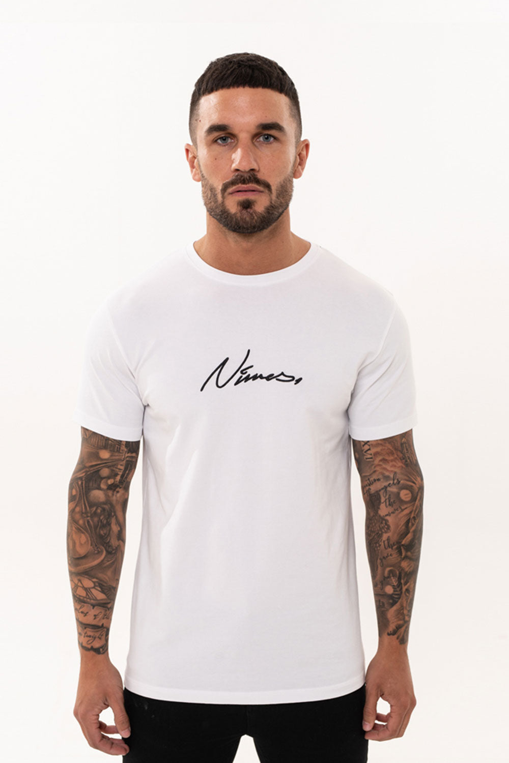 Nimes Core T-Shirt – White