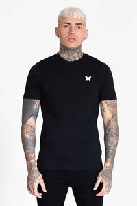 Good For Nothing Back Tape Tee - Black