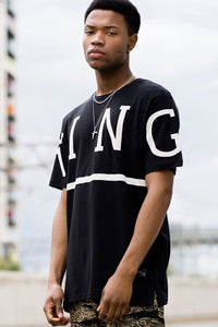 King Apparel Leyton Summer Tee - Black
