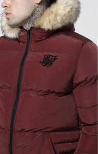 Siksilk Distance Jacket - Burgundy