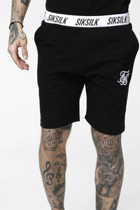 SikSilk Standard Jersey Shorts - Black