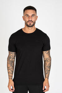 Nimes Tonal T-shirt - Black